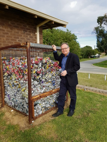 Mandurah MLA David Templeman reaffirms the State Government's commitment to a container deposit scheme.