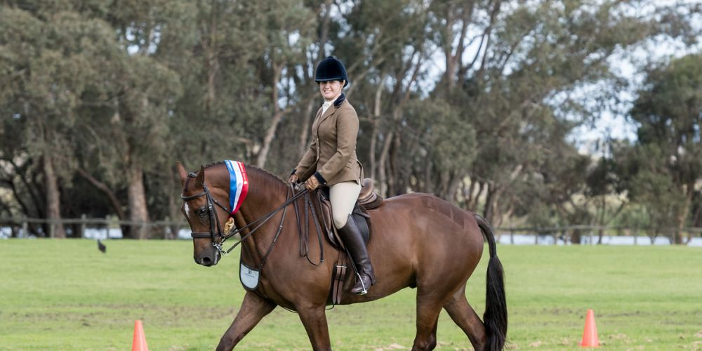 Bullsbrook rider Jane Fisher riding Robali at the 2017 event. Credit: Sonny's Snaps.