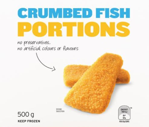 Crumbed fish portions purchased at IGA have been recalled due to contamination.