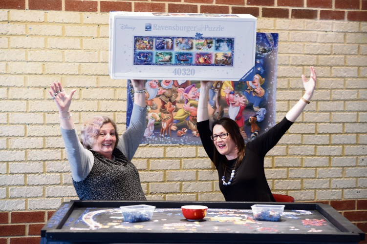 World's largest jigsaw puzzle challenge in Kwinana