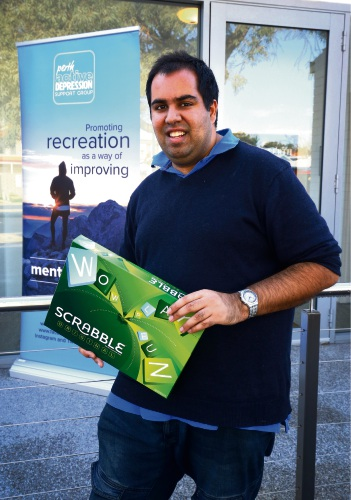 Rahul Seth from the Perth Active Depression Support Group. Picture: Matt Jelonek