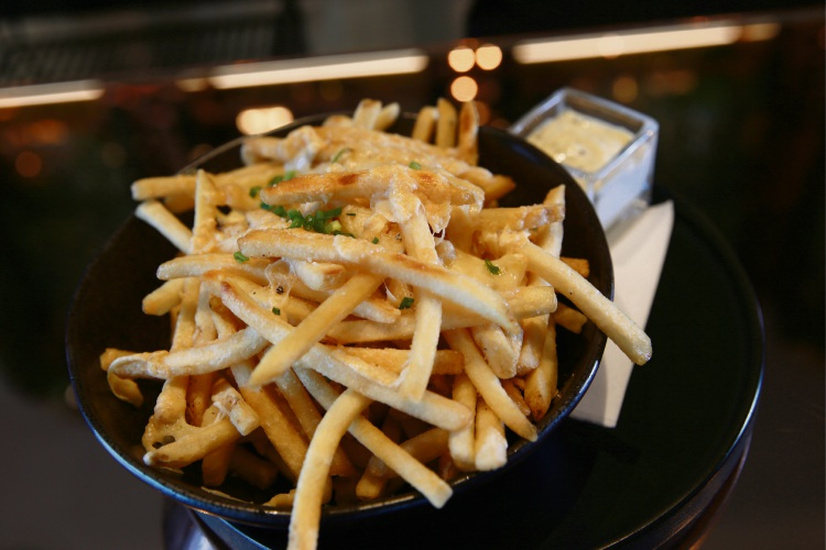 Truffle fries. Pictures: Andrew Ritchie d485240