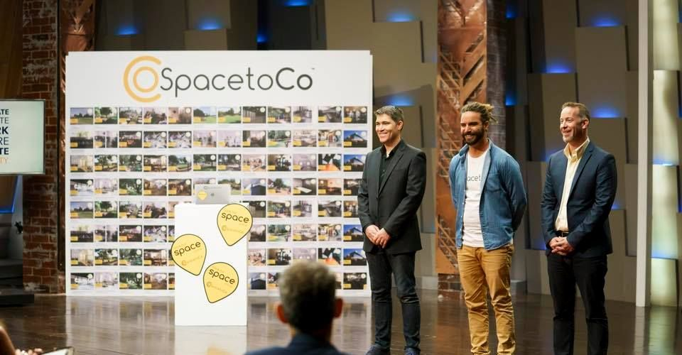 The brains behind SpacetoCo had a successful appearance on the Shark Tank this week.