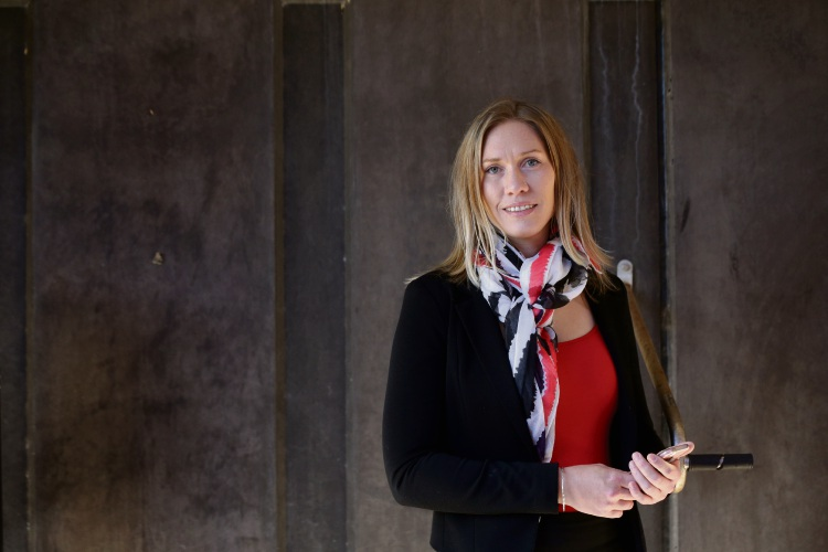 ECU student Brienna Webb is researching image-based sexual abuse. Picture: Martin Kennealey