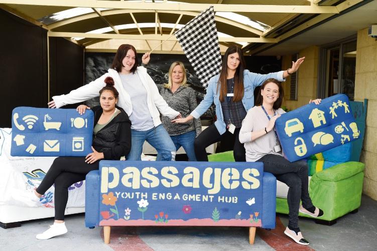 Serena Nannup, Hayley Dewar, Julie Greer, Jade Gillespie & Tonya Cabena. Picture: Jon Hewson www.communitypix.com.au d485386c