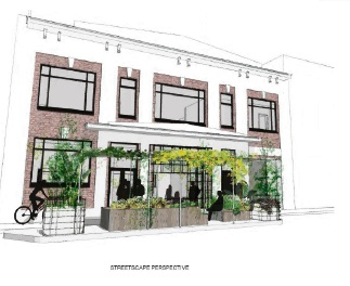 Concept plans for a new gin distillery in Fremantle.