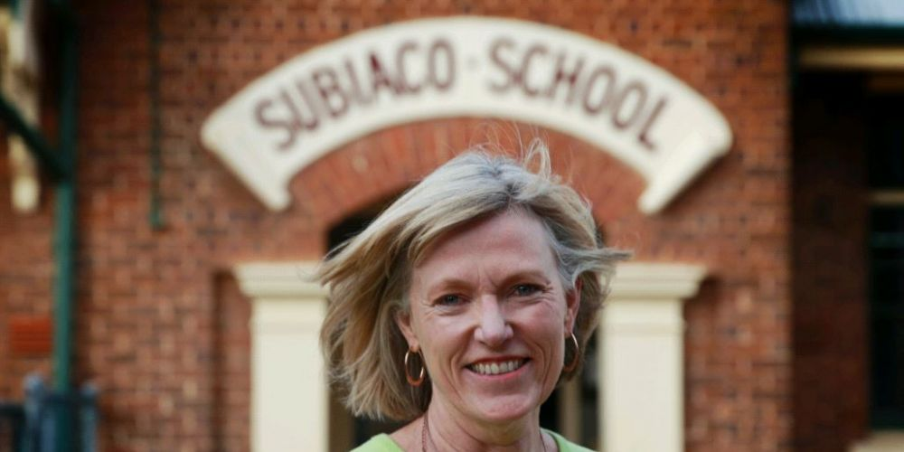 Subiaco Primary principal Carolyn Press is a finalist in the 2018 WA Education Awards. Picture: Andrew Ritchie