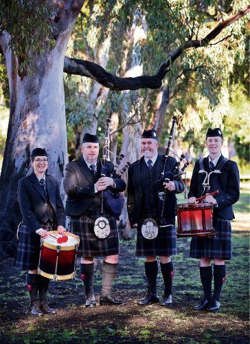 The Perth Metro Pipe Band will fly out to Scotland soon to compete at the World Championships, which start on August 18 and runs for two weeks. Picture: David Baylis www.communitypix.com.au d485231