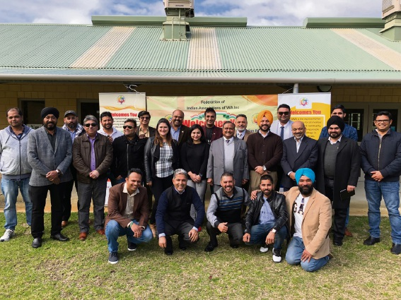 Federation of Indian Associations of WA members.