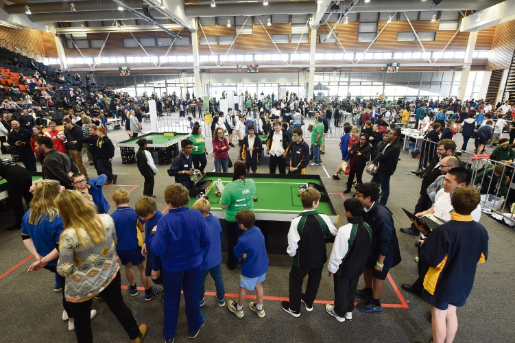 WA RoboCup Junior State Event.