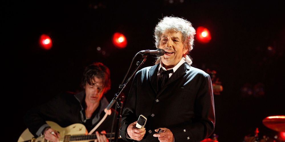 Bob Dylan at a show earlier in the year. Picture: Getty Images