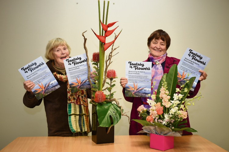 Mandurah Fantasy of Flowers is at MPAC next month