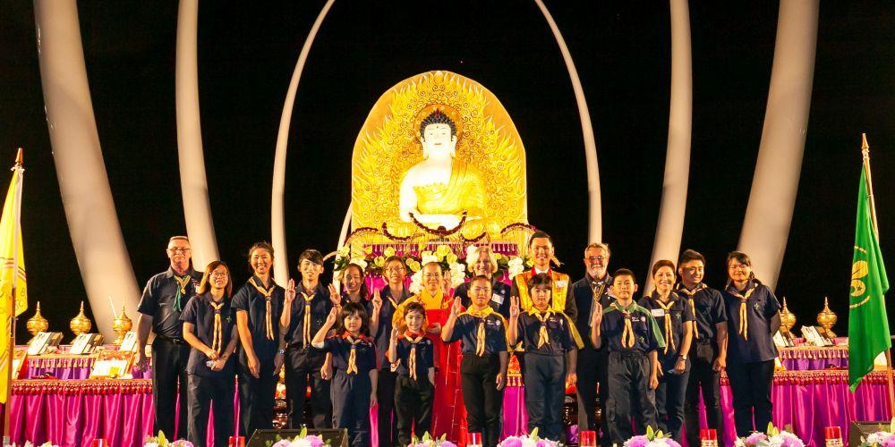Buddha's Light International Association WA scouts group