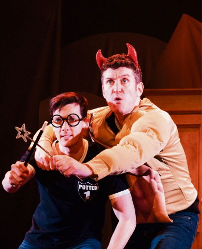 Daniel Clarkson finds Harry magic in Potted Potter
