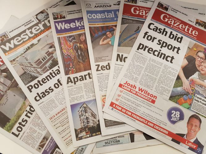 Community News boss backs future of local media