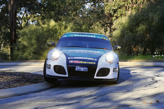 2018 Targa West: Porsche 996 Turbo wins Competition Modern category