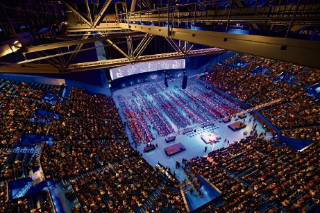 One Big Voice has expanded to 6000 students from 115 schools filling Perth Arena for two concerts in 2018.
