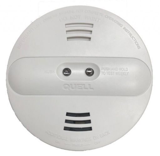 Quell branded dual sensor fire alarms have been recalled.