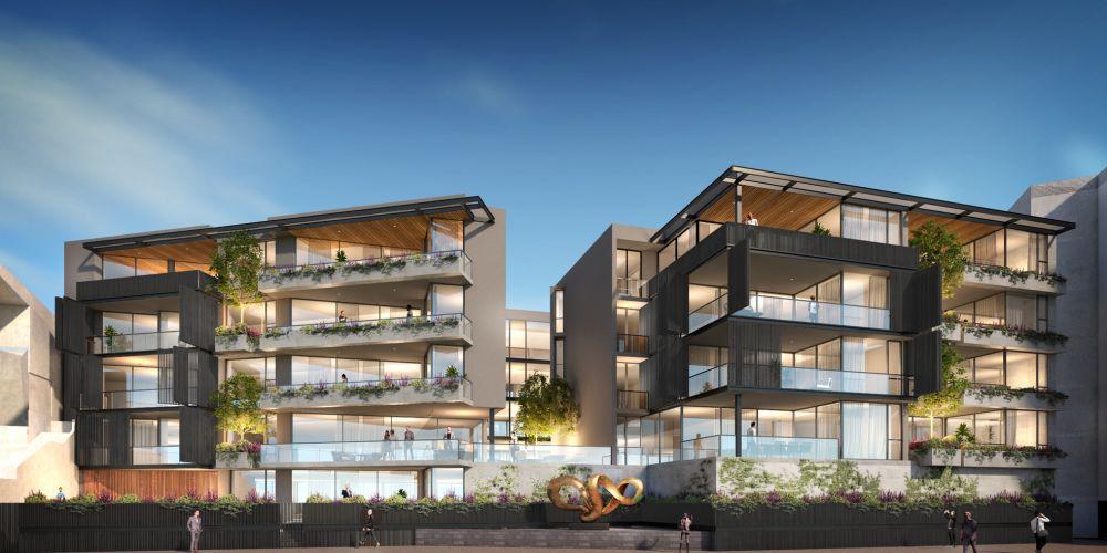 An artist's impression of Celsius Property Group's Lucent Claremont development.