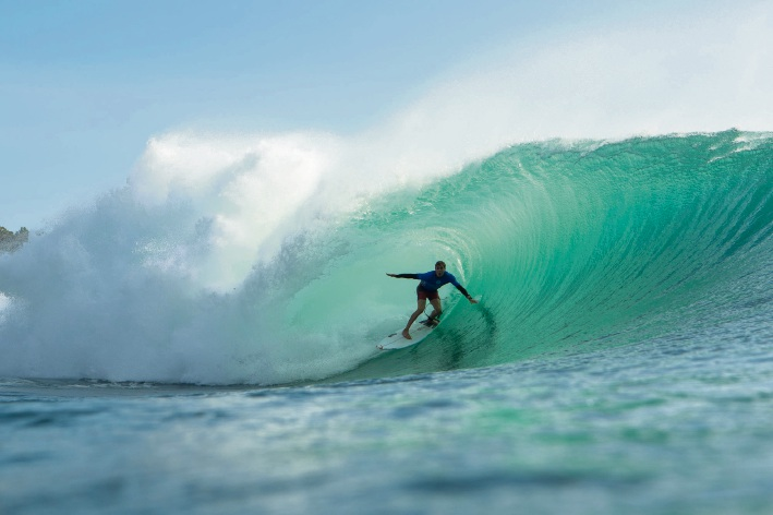 Jacob Willcox. Picture:  WSL/Conner