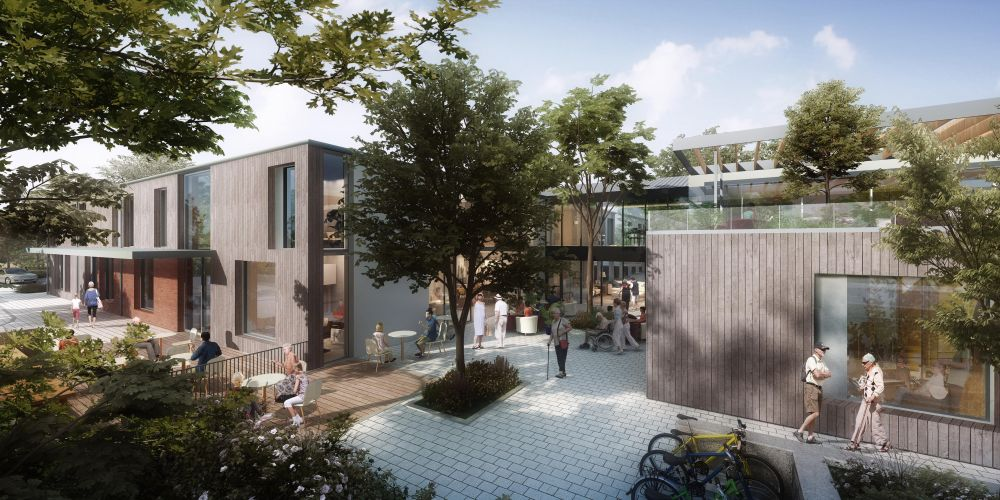 An artist impression of the proposed redevelopment.