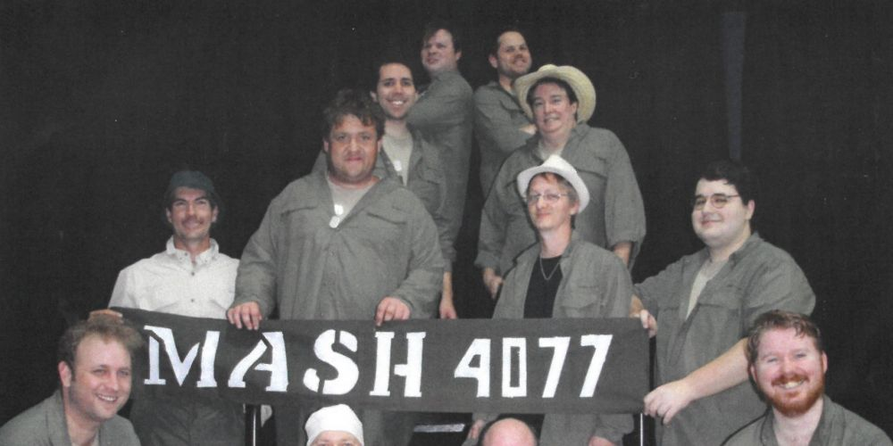 The cast of MASH.
