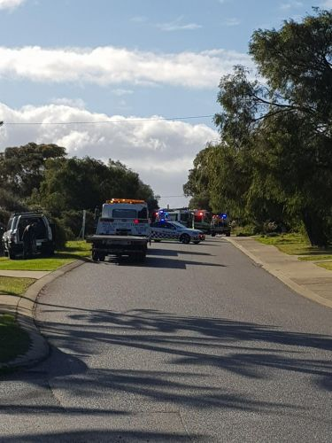 People trapped in Dawesville crash, rescue helicopter called