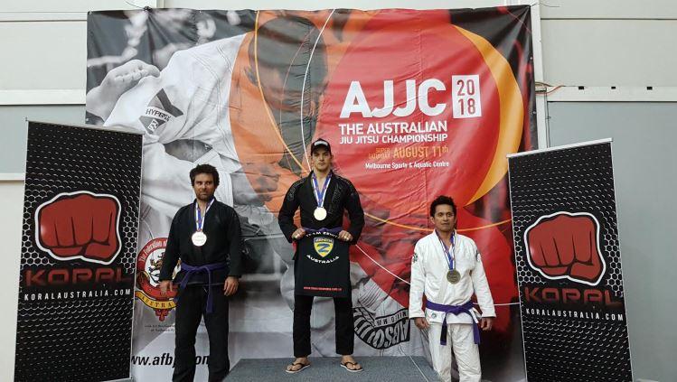 Warnbro Jiu-Jitsu champion takes out gold at nationals