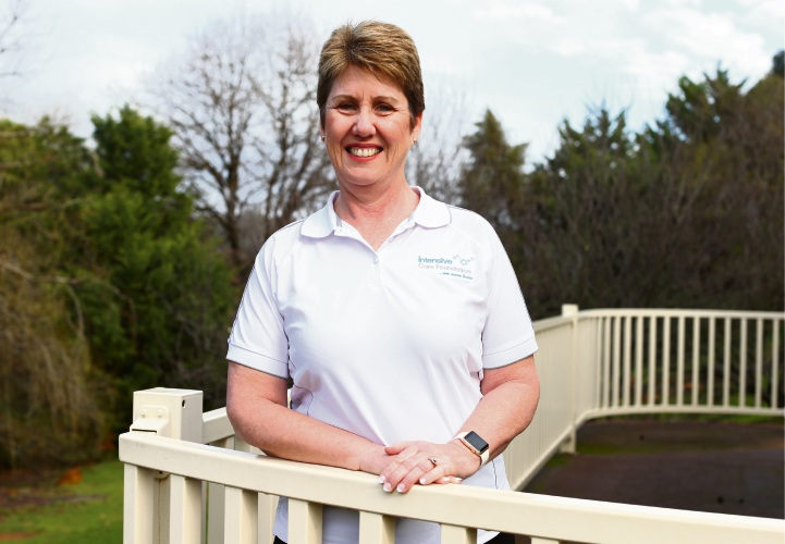 Sharon Knapp is a WA Ambassador for the Intensive Care Foundation.