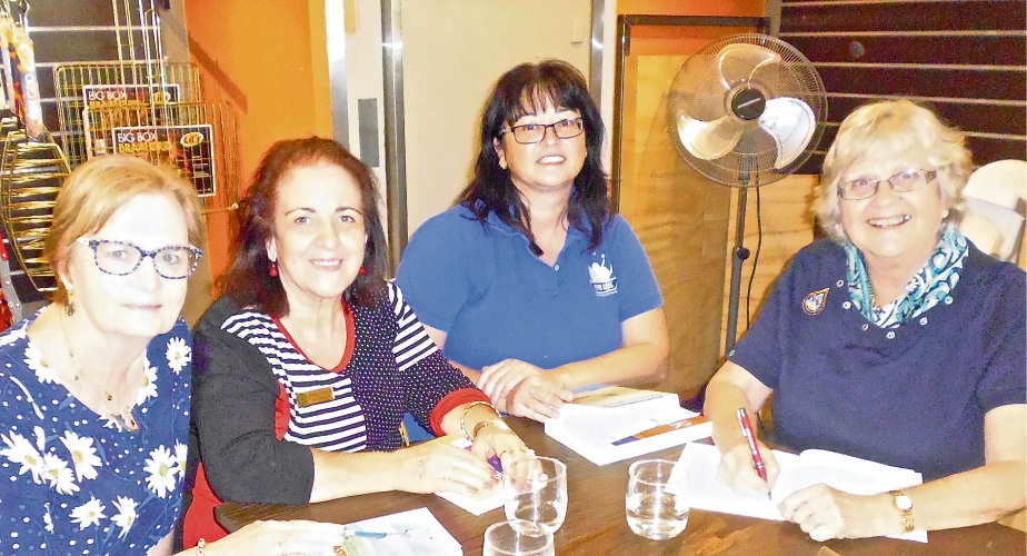 Group members Faye Pope, Maria Tsoveleas, Tanya Siebel, and Jennie van Driel.