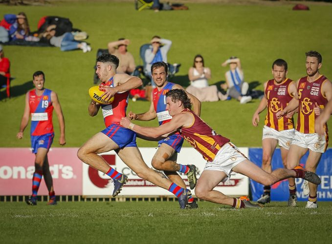 West Perth, which has so far raised more than $140,000 to off-set its huge debt, took on ladder-leader Subiaco last weekend. Picture: Dan White