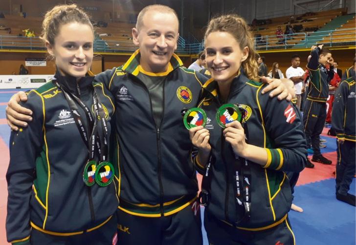 Mishela, Zlatko and Marijana Dimoska.