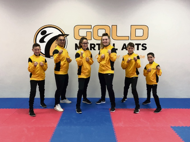 The team from Gold.