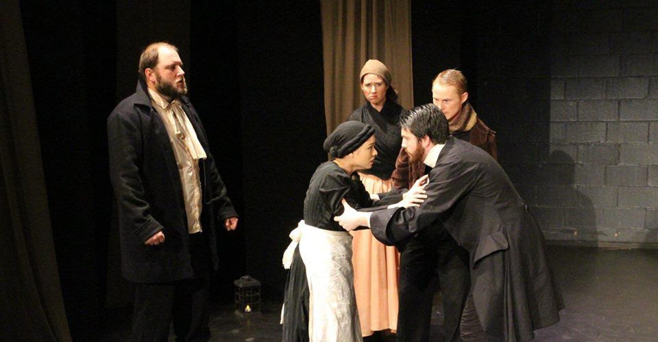 A scene from The Crucible.