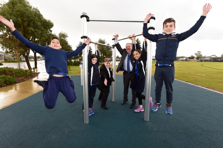New fitness equipment at Golden Bay revealed