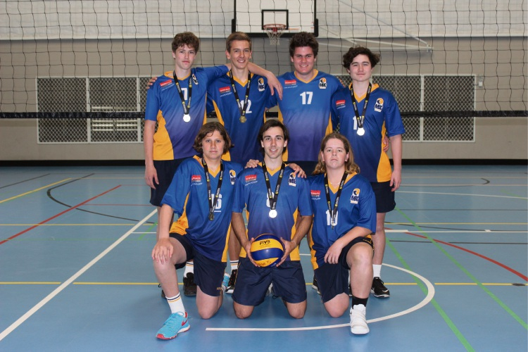 Front (L to R): Rhys Brooke, Sheehan Howie and Cadin Sturgess. Back: (L to R): Josh Howat, Louwrens Prinsloo, Erik Brough and Michael Gray. Absent: Riley Branch and Meyer Van-der-westhuizen. Picture: Victoria Rifici.