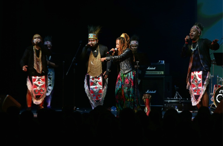Papua Original Band. Photo: Martin Kennealey