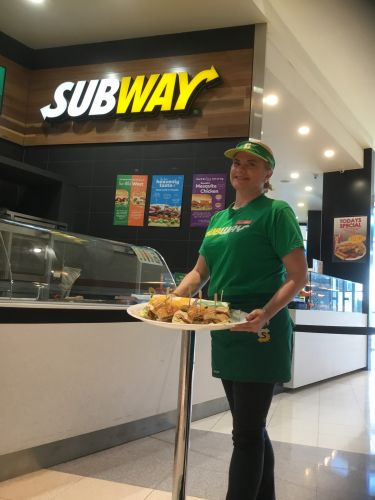 Subway Midland Gate franchise partner Hayley Horwood.