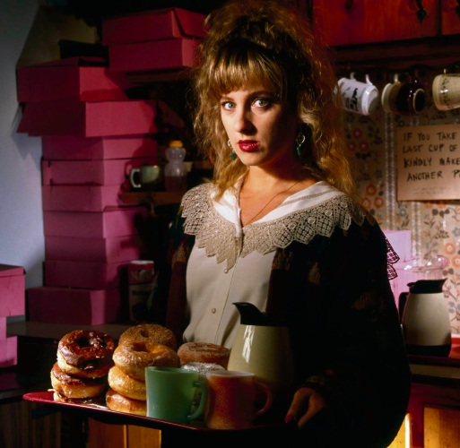 Kimmy Robertson as Lucy Moran in the '90s Twin Peaks.