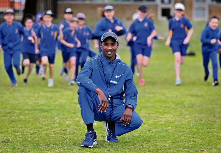 Isaac Birir is an Athletics Coach at Marangaroo Primary School. Photo: David Baylis