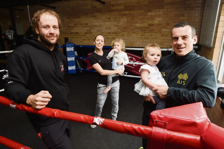Boxing champ opens gym Fighter Fit Boxing in Mandurah