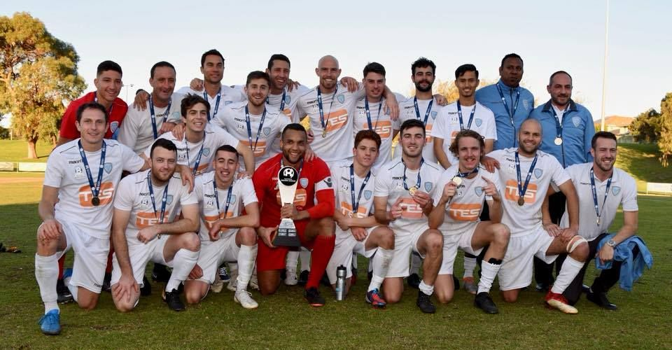 Perth SC were crowned 2018 NPL WA champions (Source: Facebook).
