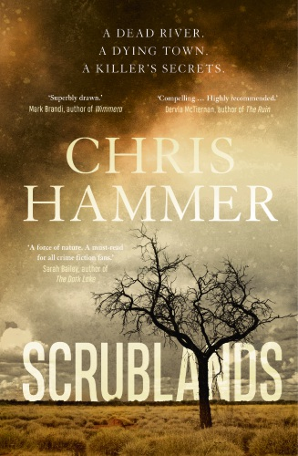 Scrublands author Chris Hammer will be in Joondalup for Books at Bars.