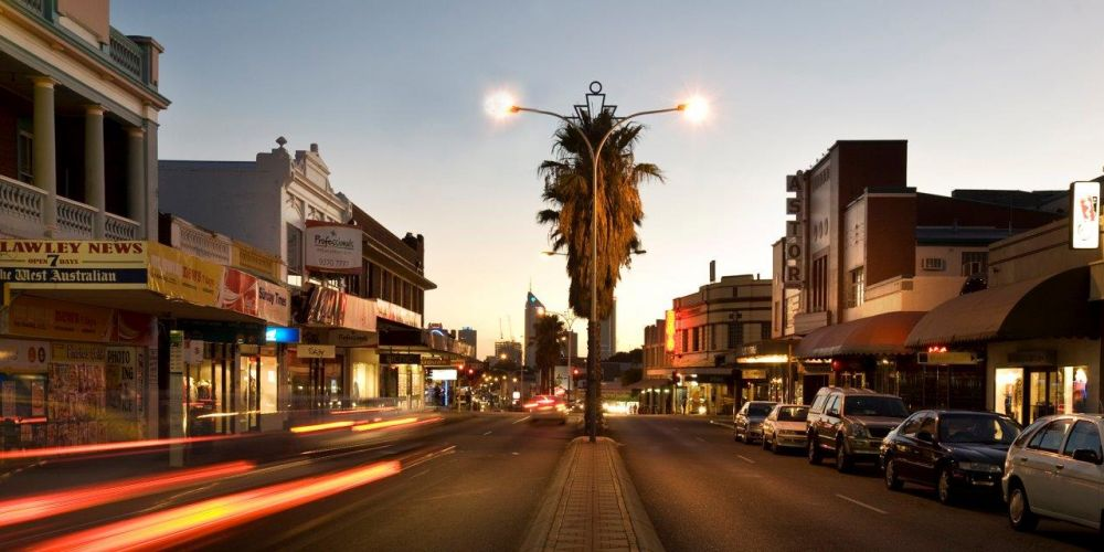 Beaufort Street in Mt Lawley.