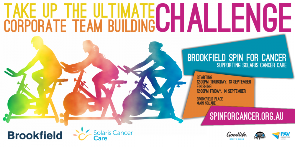 Brookfield Spin for Cancer