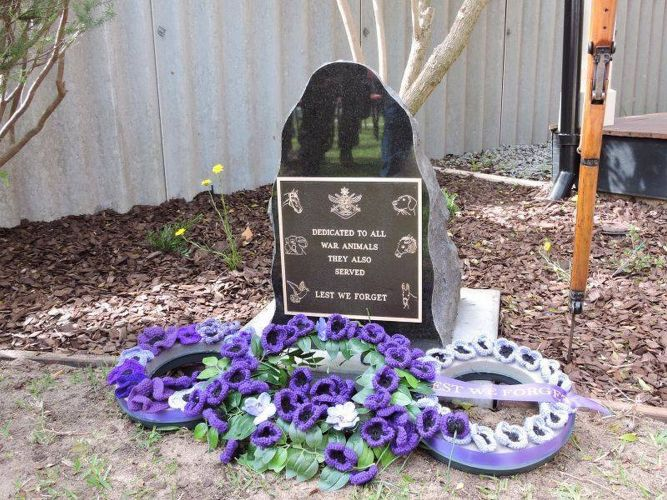 Paying Tribute to the Animals at War at ANZAC Cottage