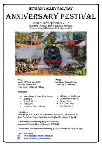 Anniversary Steam Festival