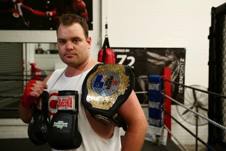 Yangebup boxer Hayden Wright (29). Picture: Andrew Ritchie.