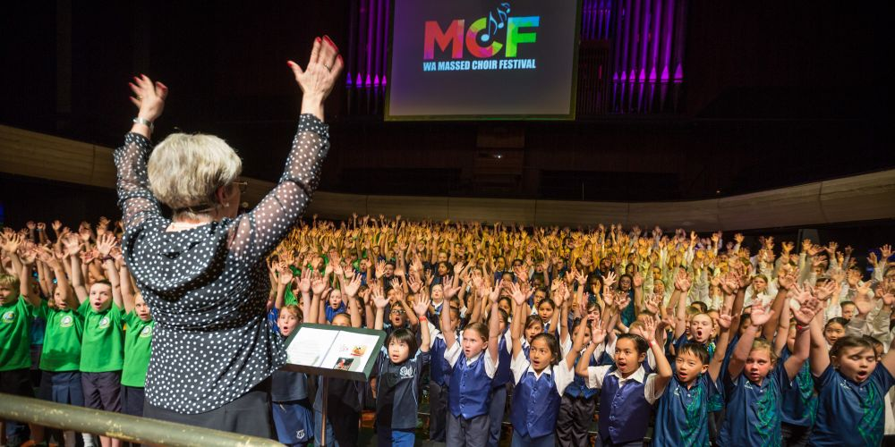 Perth: More than 80 local schools set for this year's WA Massed Choir Festival