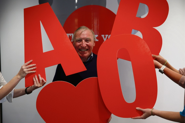 Nedlands resident Victor Talbot (70) has helped save over 1300 lives with his blood donations, and is being recognised for his efforts during National Blood Donor Week. Picture: Andrew Ritchie